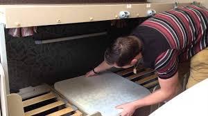 how to build caravan bunk beds youtube
