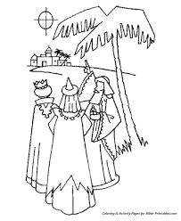 Christmas Story Coloring Pages 11