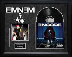 eminem encore signed album framed eminem and products