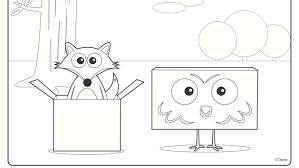 Big Block Sing Song Coloring Pages