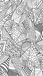 Adult Colouring Coloring Pages Adults For Abstract Flowers Christmas Online Free Printable Zen