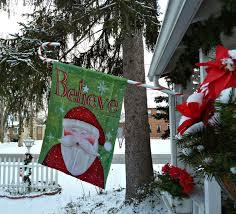 Flagpole Christmas Tree Uk by Old Glory Cottage Christmas Around The Cottage