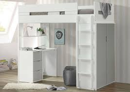 100 Loft In San Antonio Ideal Furniture West Nerice WhiteGray Twin Bed