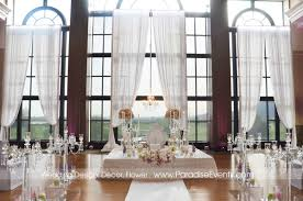 Wedding Ceremony Decor Vancouver Paradise Events Swaneset