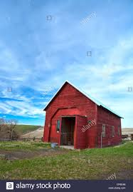 Red Barn On The Washington Palouse Stock Photo, Royalty Free Image ... Red Barn Washington Landscape Pictures Pinterest Barns Original Boeing Airplane Company Building Museum The The Manufacturing Plant Exterior Of A Red Barn In Palouse Farmland Spring Uniontown Ewan Area Usa Stock Photo Royalty And White Fence State Seattle Flight Interior Hip Roof Rural Pasture Land White Fence On Olympic Pensinula