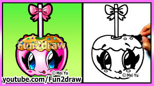Best Halloween Candy by Cute Candy Apple How To Draw Halloween Pictures Easy Food