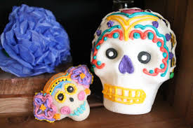 Easy Sugar Skull Day Of by How To Make Sugar Skulls For Day Of The Dead Spanglish Spoon
