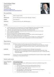 Modele Cv Key Account Manager