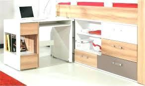 lit bureau armoire combiné lit combine armoire lit combinac avec escalier et rangements