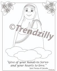 Soft Saint Coloring Book Kids Feast Day Pages Printable Download