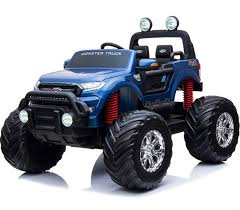 100 Ford Monster Truck Licensed 24V Ranger Ride On Jeep Blue For Just