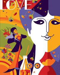 Beatles Lava Lamp Tuesday Morning by Beatles Yellow Submarine Paul Regular Edition Illustration