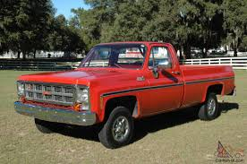 1979 GMC SIERRA 1500 GRANDE - 4X4 - ONLY 19,809 DOCUMENTED ONE OWNER ...