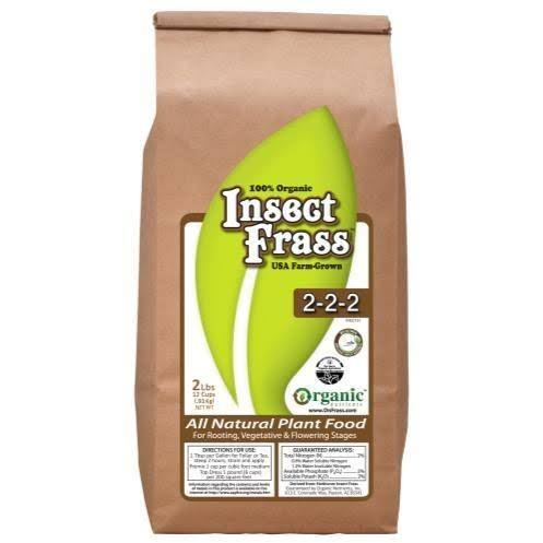 Insect Frass Organic All Natural Plant Food - 2-2-2, 2lb