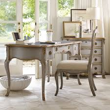 master hook2332 hooker furniture gray writing desk with gold accents hayneedle from hooker