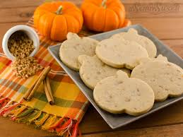 Types Of Pumpkins For Baking by Pumpkin Spice Toffee Roll Out Cookie Recipe Semi Sweet Designs