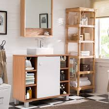 72H Tall Floor Storage Cabinet Free Standing Shelving