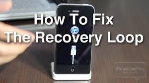 How to Fix the iPhone s Dreaded Recovery Loop and Downgrade Back