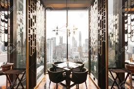 100 Modern Luxury Design Luxury Decorated Interior Restaurant That Can View Bangkok