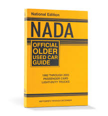 100 Used Truck Value Guide NADA Official Older Car