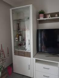 höffner wohnzimmer wohnwand hochglanz in 68723 plankstadt