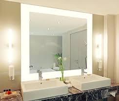 badspiegel mit beleuchtung vella m444l4 design spiegel für