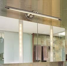 led spiegelleuchte badezimmer spiegel bad beleuchtung retro