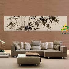 digital gedruckt traditionelle chinesische bambus malerei öl malerei bambus leinwand drucke gerahmte ölgemälde für wohnzimmer buy digital gedruckte