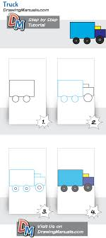 How To Draw A Truck, Simple Tutorial For Young Kids | Htoon Drawings ... How To Draw The Atv With A Pencil Step By Pick Up Truck Drawing Car Reviews 2018 Page Shows To Learn Step By Draw A Toy Tipper 2 Mack 3d Pickup 1 Cakepins Truck Youtube Cars Trucks Sbystep Itructions For 28 Different Vehicles Simple Dump Printable Drawing Sheet Diesel Drawings Best Of Monster An F150 Ford