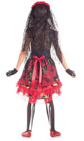 Halloween Costumes Memoirs Of A by Day Of The Dead Senorita Child Halloween Costume Walmart Com