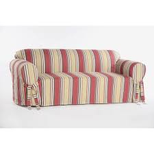 Sure Fit Sofa Covers Ebay by Striped Sofa Slipcovers Stretch Ticking Stripe Loveseat Slipcover