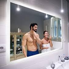 badspiegel 50x50cm mit led beleuchtung wählen sie zubehör