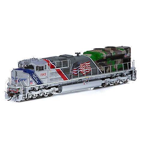 Athearn Genesis Sd70ace HO up Spirit of The Union Pacific EMD Train Model Kit