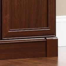 Sauder Palladia Executive Desk Assembly Instructions by Amazon Com Sauder Palladia Library With Doors Select Cherry