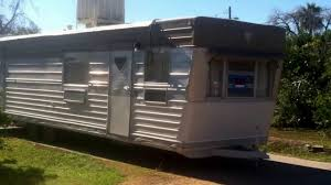 1960s HICKS Mobile Home Trailer