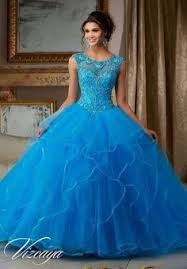 quinceanera dress 89067 embroidery beading tulle ball