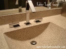 Bertch Bathroom Vanity Tops by Bertch Vanity Top With Kohler Loure Fixtures