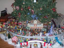 My Disney Christmas Monorail Display
