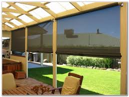 Roll Up Patio Shades by Roll Up Patio Blinds Premier Comfort Heating