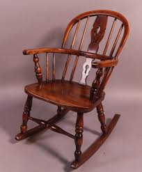 Childs Yew Wood Windsor Rocking Chair - Antiques Atlas   Chairs In ... Windsor Rocking Chair For Sale Zanadorazioco Four Country House Kitchen Elm Antique Windsor Chairs Antiques World Victorian Rocking Chair English Armchair Yorkshire Circa 1850 Ercol Colchester Edwardian Stick Back Elbow 1910 High Blue Cunningham Whites Early 19th Century Ash And Yew Wood Oxford Lath C1850 Ldon Fine