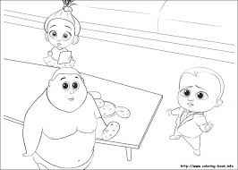 Boss Baby Free Printable Coloring Pages 82121