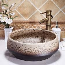 hiwenr malerei keramikmalerei kunst waschbecken für