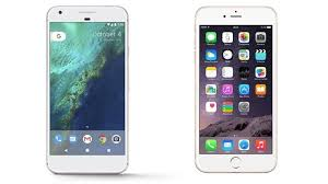 iPhone 8 vs Pixel 2 Apple And Google Smartphone Face f