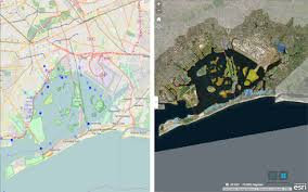 Screenshots Of Two New Mapping Tools Developed By CIESIN And Partners The Jamaica Bay Water Quality Data Visualization Access Tool Left AdaptMap