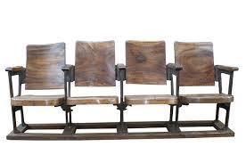 cinema siege sièges anciens en bois mobilier francisco segarra