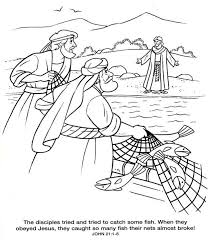 Pin Fishing Net Clipart Bible Story 11