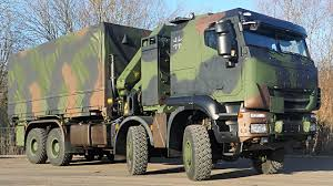 100 German Trucks Iveco Defence Vehicles Delivers 100th Trakker GTF 8X8 Tactical