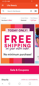 Ulta Free Shipping, No Minimum Purchase : MUAontheCheap Ulta Cyber Monday Sale Free 22piece Gift Advent Calendar On Free 10 Pc Lip Sampler With Any 75 Online Purchase 21 Days What I Just Bought At Ulta 3 By Linda Issuu Why Do So Many Coupon Sites Post Expired Promo Codes Hokivin Mens Long Sleeve Hoodie For 11 Ulta Beauty Coupons 100 Workingdaily Update September 2018 Cultures Health Coupons 20 Off Everything Coupon Is Having A Major Sale Before Black Friday 76 Items Under 5 Clearance Sale Get Shipping On Your Purchase Limit One Use Per Customer