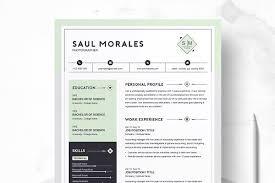 Resume Templates Creative Market