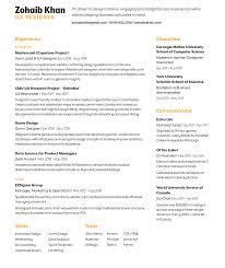 Resume | Zohaib Khan